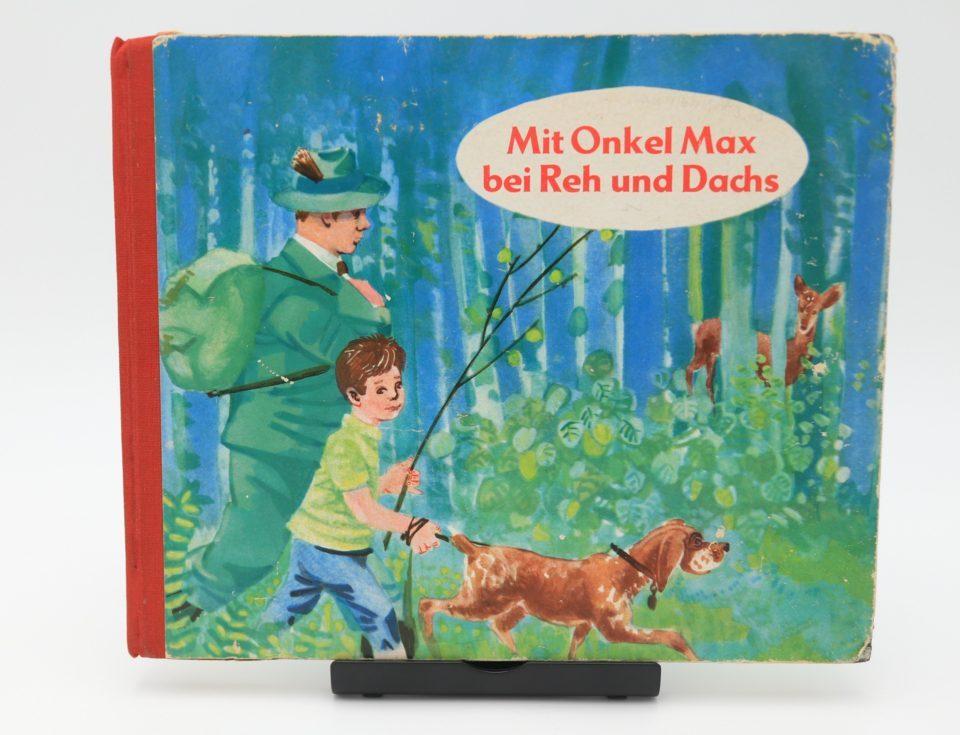 DDRヴィンテージ絵本 Mit Onkel Max bei Reh und Dachs